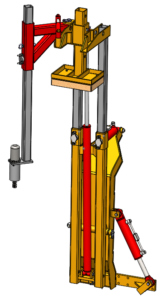 Dolmec trivella idraulica su piantapali dolmec for Piantapali manuale