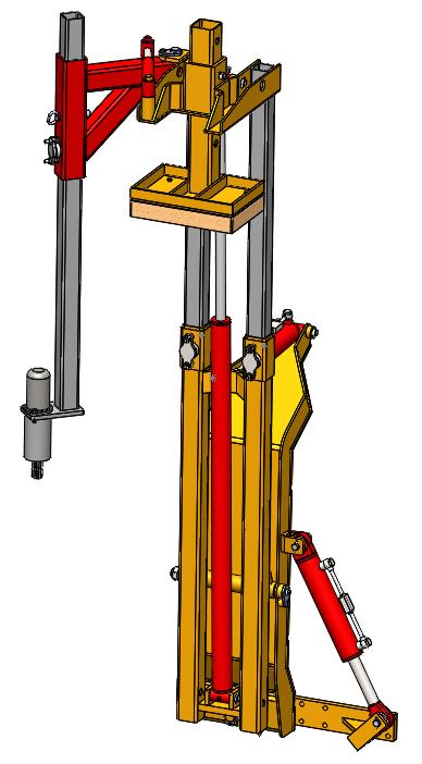 Trivella idraulica su piantapali dolmec for Piantapali manuale